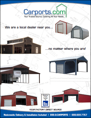 Price Brochures For T N T Carports Nationwide Installed